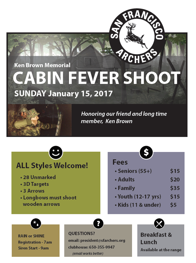 SF Archers Cabin Fever-2017