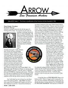 The Arrow: June 2014