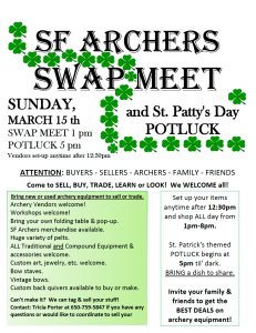 March swap meet